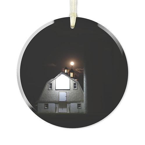 Townsend Barn Glass Ornament