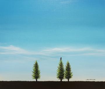 나무의자_53x45.5_oil on canvas_2020_1,200,00