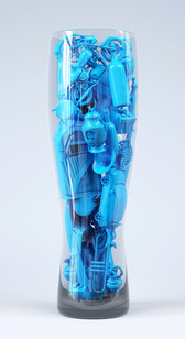12 BLUE JUICE_40 x 73cm_Pigment print_ f