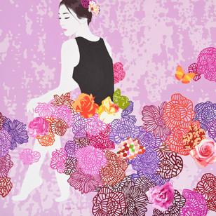15_Blossom_Acrylic on canvas_60.6x60.6.j