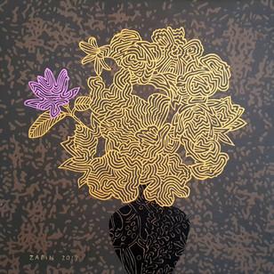 12_Blossom_Acrylic on canvas_30x30_40만원.