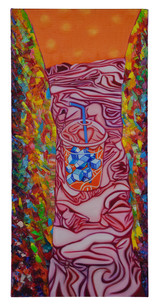 141 빛의퐁듀 1 65.2X31cm Oil on canvas.jpg