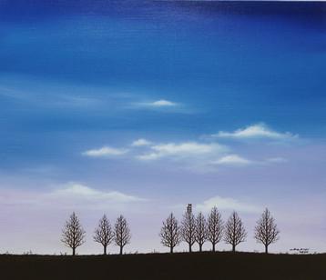 나무의자_53x45.5_oil on canvas _2020_1,200,0