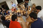 Primeiro Beermatch no Salão de Festas do Bruno