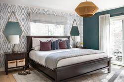 Modern Cool Master Bedroom