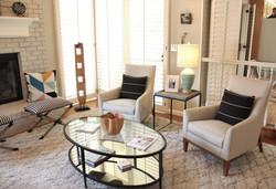 Modern Elegant Family Room