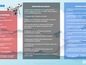 Vuela seguro - Checklist de vuelo