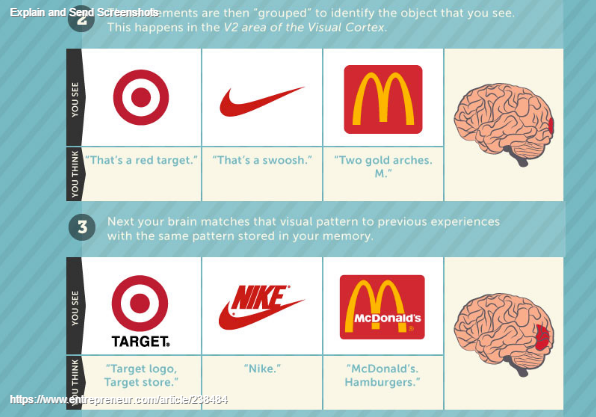 The Incredible Way Your Brain 'Sees' a Logo (Infographic) (1)