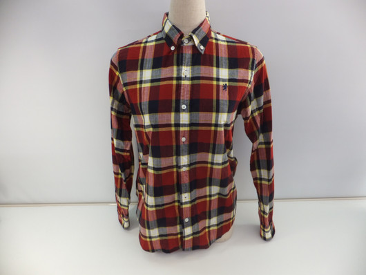 Gymphlex マドラスチェック ボタンダウンシャツ