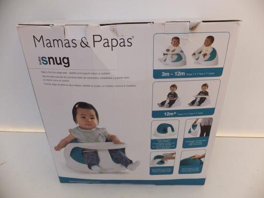 Mamas&Papas/スナッグチェア/トレイ付
