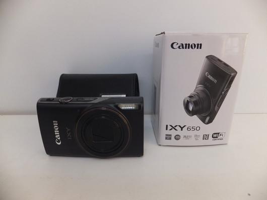 キャノン デジタルカメラ IXY650(BK)