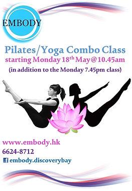 EMBODY FLYERS - Yoga Pilates combo  iii.