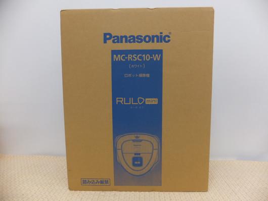 Panasonic/ロボット掃除機/MC-RSC10W