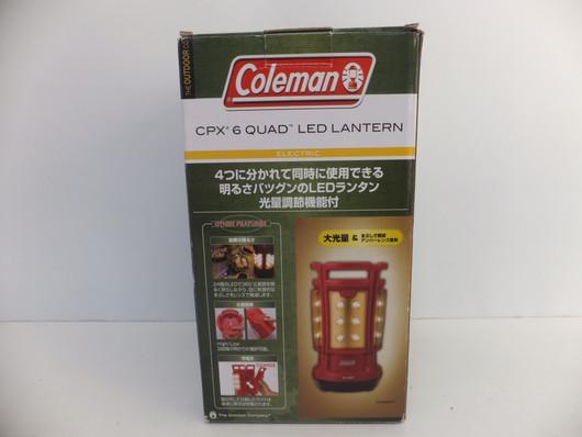 コールマン/クアッドLEDランタン/CPX6