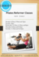 EMBODY FLYERS - Pilates classes new  tim