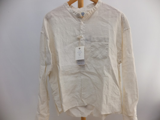 DMG(ドミンゴ)リネンスタンドシャツ/新品