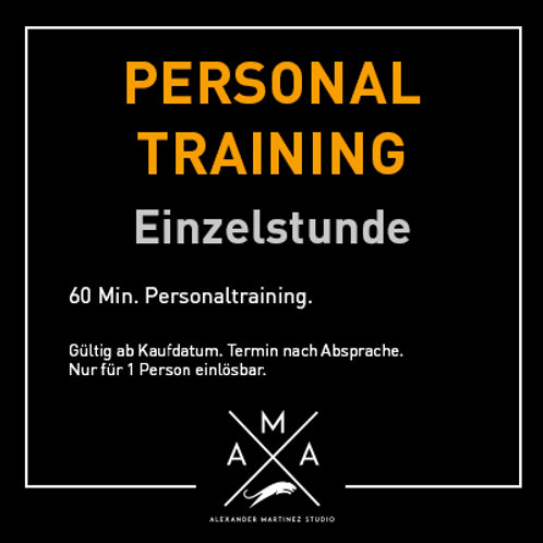 Personal-Training Einzelstunde