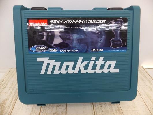 マキタ/充電式インパクトドライバ/TD134DSHX