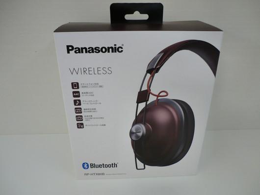 Panasonic/ワイヤレスヘッドホン/RP-HTX80B