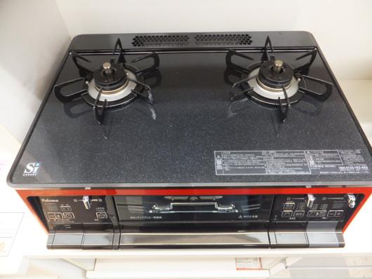 パロマ/ガスコンロ/PA-A91WCR-R/LPガスコンロ