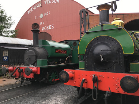 Wissington arrives at Beamish