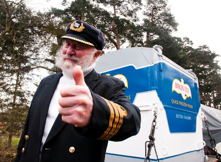 Thumbs up from Captain Birdseye!