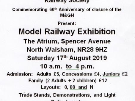 M&GN Closure - 60th Anniversary Model Exhibition