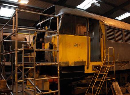 Class 31 Bodywork Overhaul