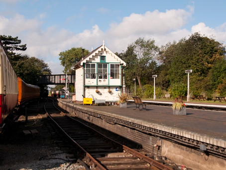 Sheringham East Signal Box Moved