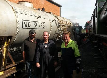 WD Boiler Steam Test September 2016