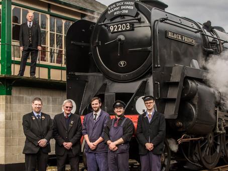 Dick Hardy memorial train