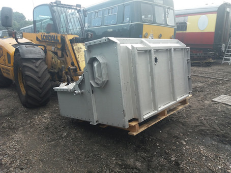 Class 31 Feed Tank Has Landed 2019 August