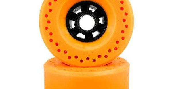 Orange 105mm Honey comb 76a wheels