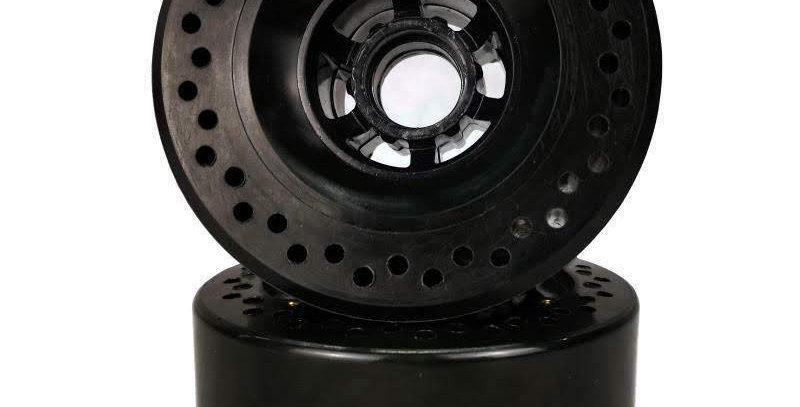 Black 105mm Honey comb 76a wheels