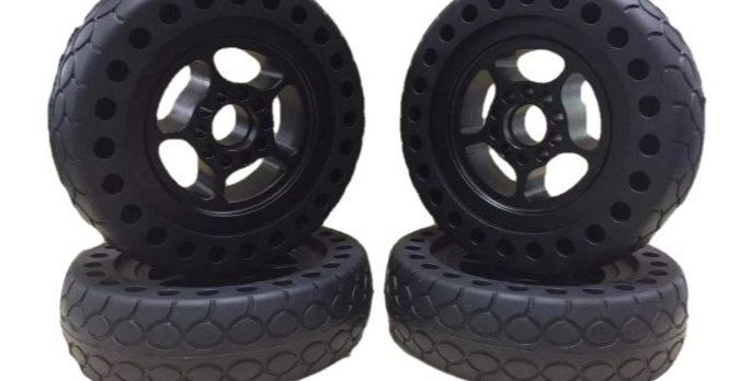 6 inch kegel core airless All terrain wheels