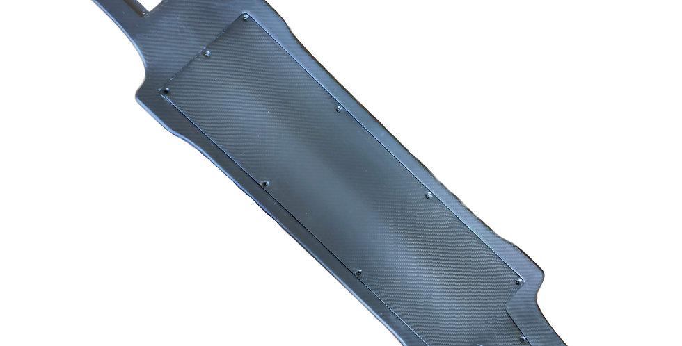 Intergrated carbon fibre deck