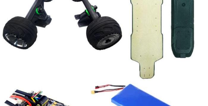 Rubber Hub 12S complete kit