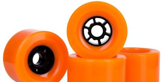 Orange 97mm 78A wheels (set of 4)