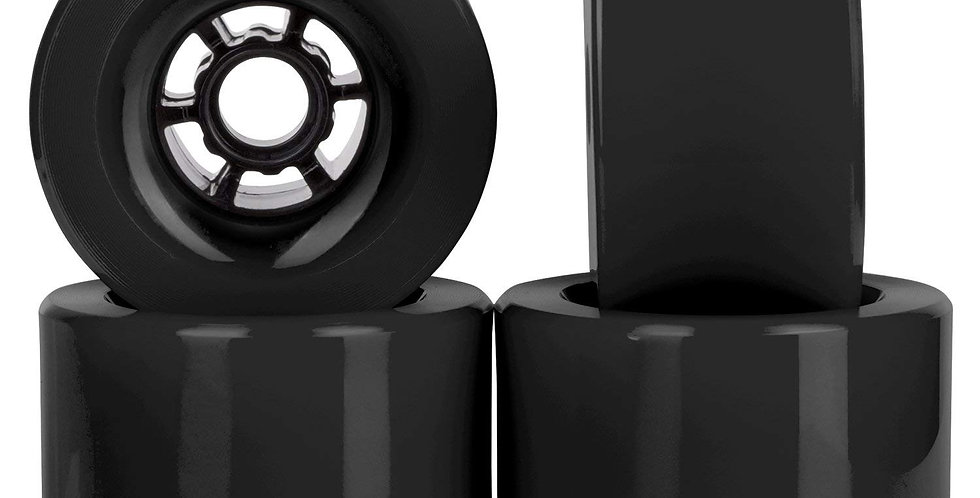 Black 97mm 78A wheels (set of 4)