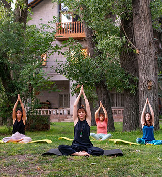 Yoga, Doğa, Bahçe