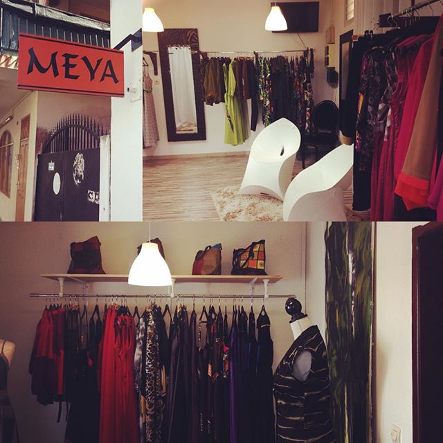 Un petit tour chez _ MEYA _ boutique avant de reprendre la route ;)