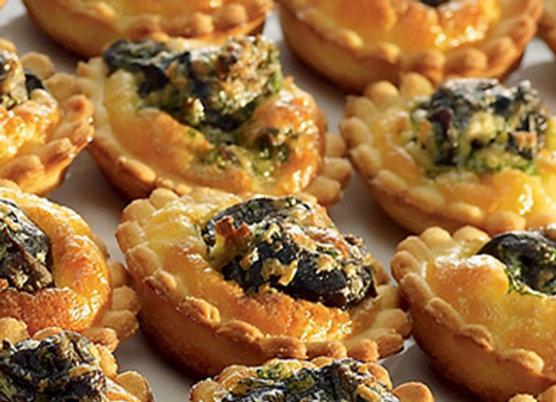 Mini Tartelettes poulet Boucané - Lot de 15