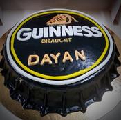 Gâteau à thème GUINNESS