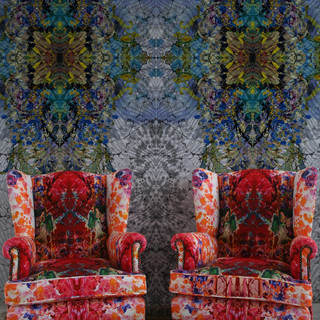 Kaleido Block Superwide Wallpaper Panels