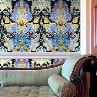 Damsel Damask Wallpaper