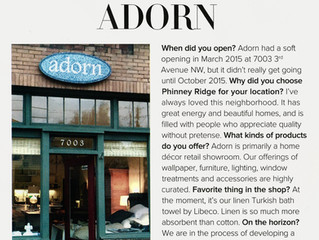 Adorn in LUXE magazine
