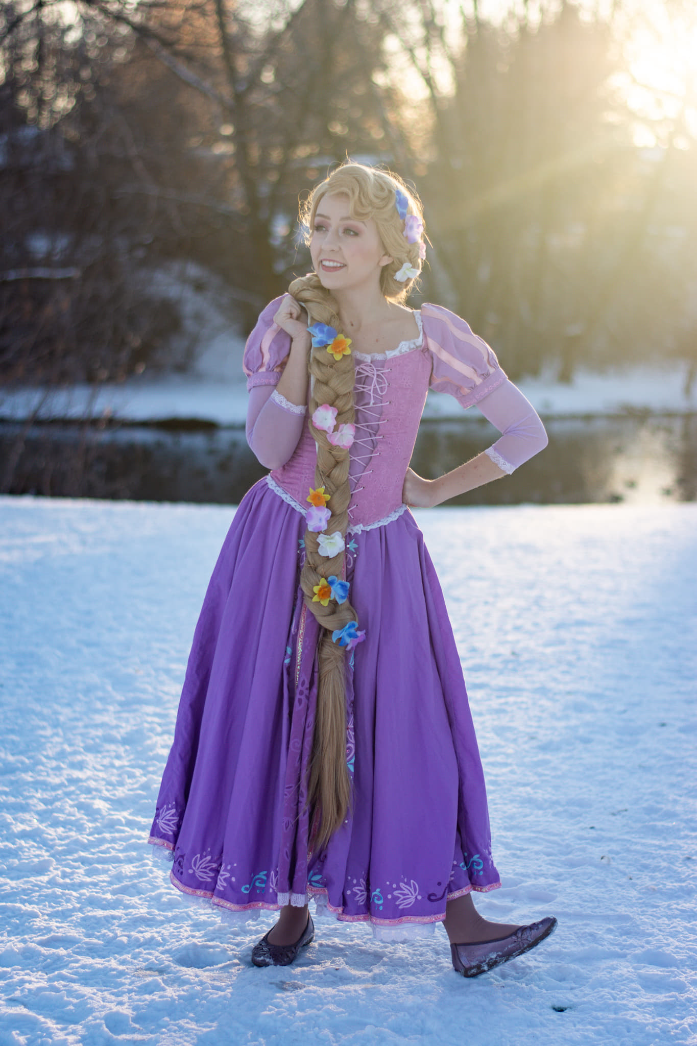 utah rapunzel party