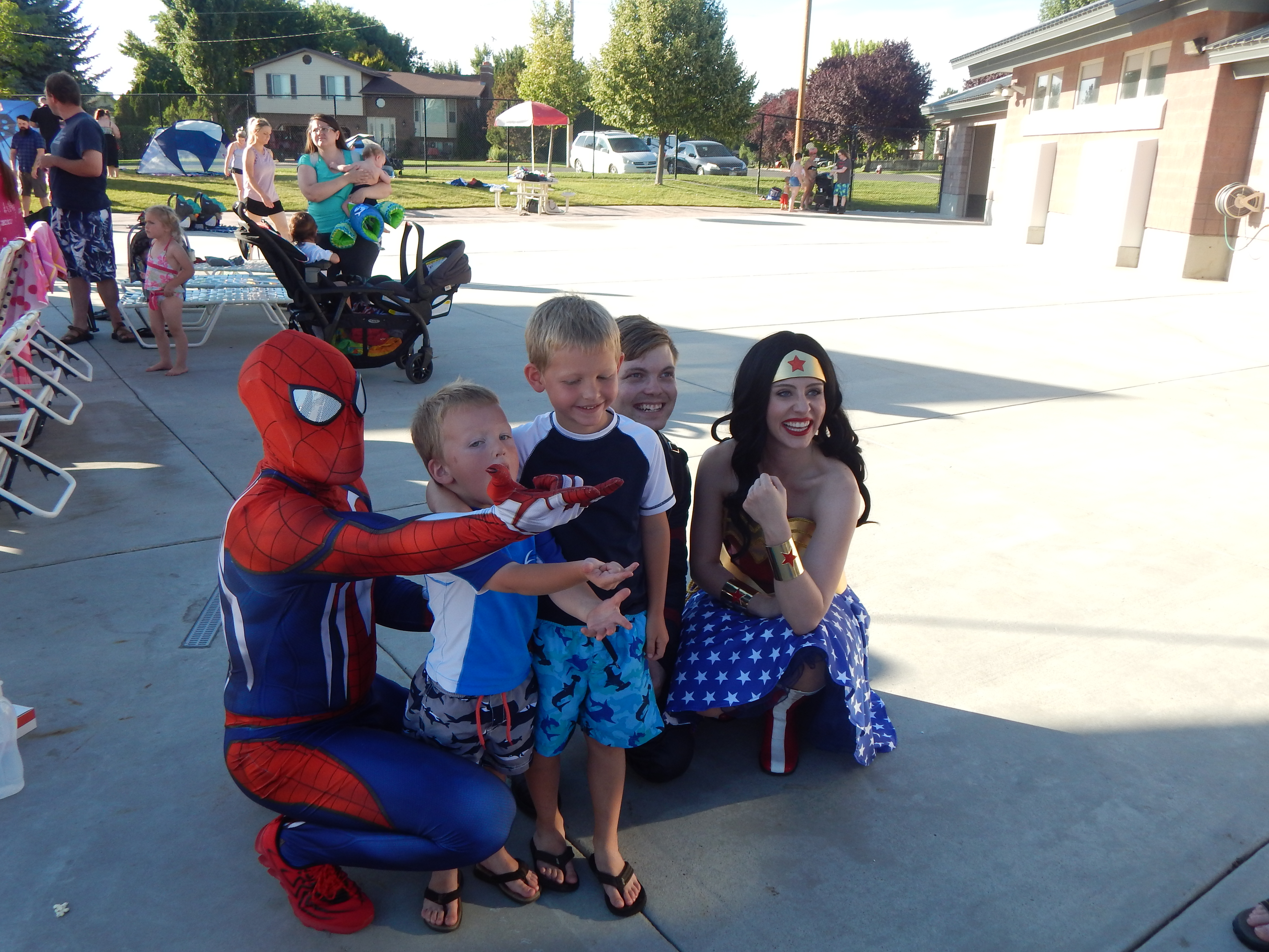 utah spiderman party