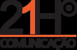 Logo 21H Comunicação art | voz | web