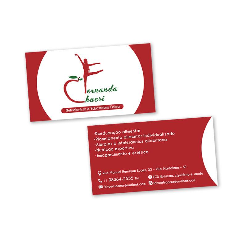 Cartão Nutricionista